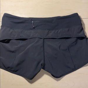 lululemon athletica Shorts - Lululemon black running shorts